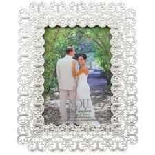 Romance Payson Double Hearts Photo Frame
