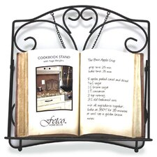 Alda Cookbook Holder - Tuscan Bronze