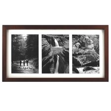 Grenon Matted Triple Picture Frame