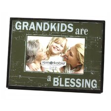 Expressions Grandkids are a Blessing Photo Frame