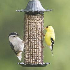 Little-Bit Screen Tube Bird Feeder (Set of 2)