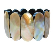 Oval Mother of Pearl Bracelet