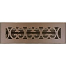 "3.75"" x 11.5"" Scroll Vent with Damper"
