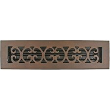 "3.75"" x 13.5"" Scroll Vent with Damper"