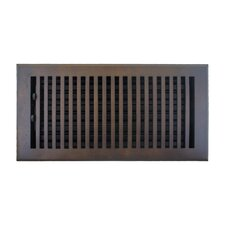 "7.5"" x 13.5"" Flat Vent with Damper"