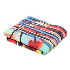 Robin Faye Gates Musical Chairs Polyester Fleece Throw Blanket