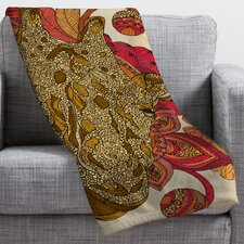 <strong>DENY Designs</strong> Valentina Ramos The Giraffe Polyester Fleece Throw Blanket
