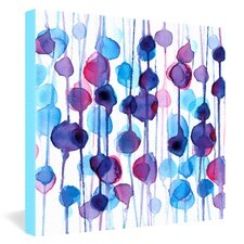 <strong>DENY Designs</strong> CMYKaren Abstract Watercolor Canvas Wall Art