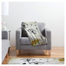 Iveta Abolina Little Dandelion Polyester Fleece Throw Blanket