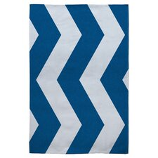 <strong>DENY Designs</strong> Holli Zollinger Denim Chevron Rug