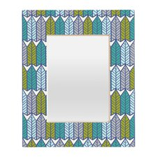 <strong>DENY Designs</strong> Heather Dutton Arboretum Leafy Rectangular Mirror