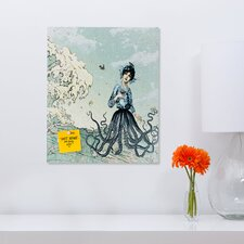 <strong>DENY Designs</strong> Belle13 Sea Fairy Rectangular Magnet Board