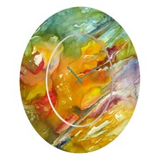 Rosie Brown Abstract 2 Clock