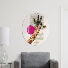 Coco de Paris Giraffe with Bubblegum Clock