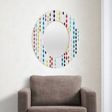 Khristian A Howell Nolita Drops Oval Mirror