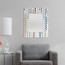 <strong>DENY Designs</strong> Khristian A Howell Nolita Drops Rectangular Mirror
