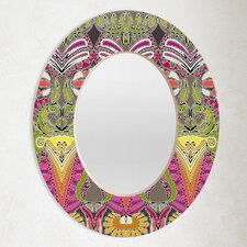 Sharon Turner Aphrodites Garden Oval Mirror