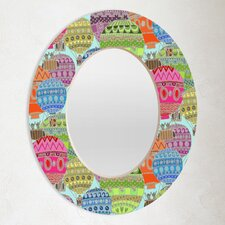 Sharon Turner Candy Sky Oval Mirror