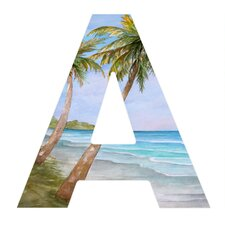 Rosie Brown Swaying Palms Decorative Letters