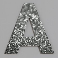 <strong>DENY Designs</strong> Lisa Argyropoulos Steely Grays Decorative Letters