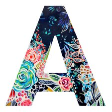 <strong>DENY Designs</strong> Stephanie Corfee Night Bloomers Decorative Letters