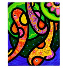 Steven Scott Paisley Pond Rectangular Magnet Board