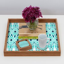 <strong>DENY Designs</strong> Amy Sia Ikat Jade Coaster (Set of 4)