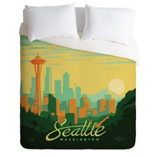 <strong>DENY Designs</strong> Anderson Design Group Seattle Duvet Cover Collection