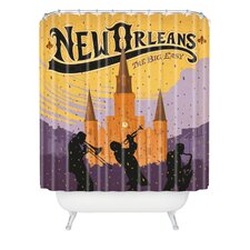 <strong>DENY Designs</strong> Anderson Design Group Woven Polyester New Orleans One Shower Curtain