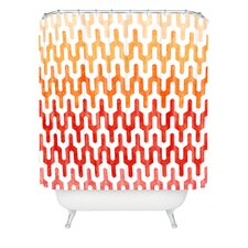 <strong>DENY Designs</strong> Arcturus Warm 1 Polyester Shower Curtain