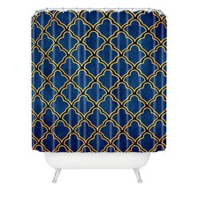 Arcturus Quatrefoil Polyester Shower Curtain