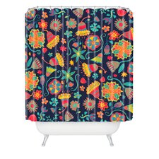 Arcturus Bloom 1 Polyester Shower Curtain