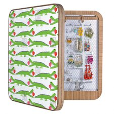 Andi Bird Alligator Love Jewelry Box