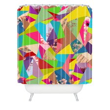 <strong>DENY Designs</strong> Bianca Woven Polyester Colorful Thoughts Shower Curtain