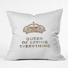 Bianca Her Daily Motivation Outdoor Throw Pillow