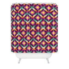 <strong>DENY Designs</strong> Bianca Woven Polyester Aztec Diamonds Hammock Shower Curtain