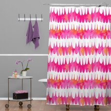 Betsy Olmsted Owl Feather Woven Polyesterrr Shower Curtain (Set of 4)