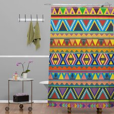 Bianca Woven Polyester Play Shower Curtain