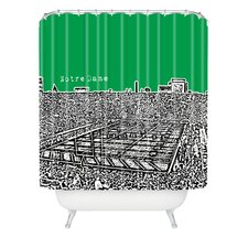 Bird Ave Woven Polyester Notre Dame Shower Curtain