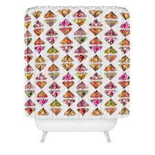 <strong>DENY Designs</strong> Bianca Woven Polyester These Diamonds Are Forever Shower Curtain