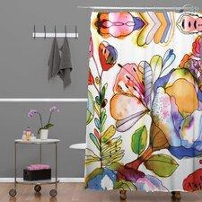 Cayenablanca Blossom Pastel Shower Curtain