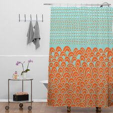 Budi Kwan The Infinite Tidal Polyesterrr Shower Curtain