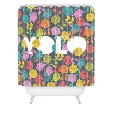 <strong>DENY Designs</strong> Bianca Woven Polyester Yolo Shower Curtain
