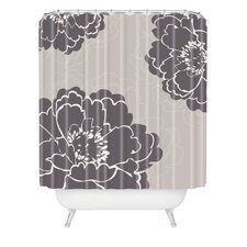 <strong>DENY Designs</strong> Caroline Okun Winter Peony Polyester Shower Curtain