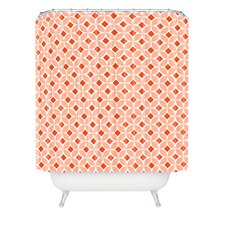 <strong>DENY Designs</strong> Caroline Okun Persimmon Polyester Shower Curtain