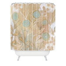 Cori Dantini Woven Polyester Floral Extra Long Shower Curtain