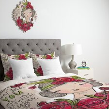 Cori Dantini Dear Sweet Girl Duvet Cover Collection