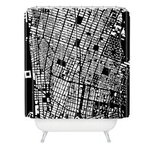 <strong>DENY Designs</strong> CityFabric Inc Woven Polyester NYC Shower Curtain