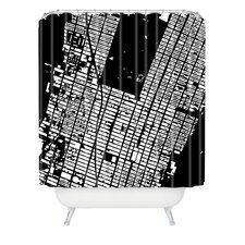 CityFabric Inc Woven Polyester NYC Midtown Shower Curtain