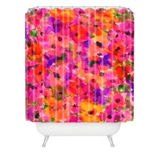 <strong>DENY Designs</strong> Amy Sia Fleur Rouge Shower Curtain